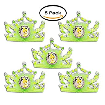 PACK OF 5 - Tinker Bell Tiara Adult/Child Halloween Accessory