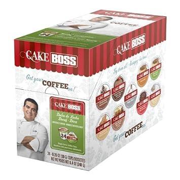 Cake Boss Coffee Dulce De Leche Decaf Single Serve Cups 4 x 24 (96)