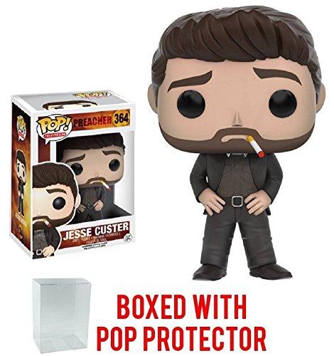 (Funko Pop! Television: Preacher - Jesse Custer Vinyl Figure (Bundled with Pop Box Protector Case))