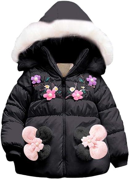 Loveble Kids Girl Faux Fur Thick Warm Cape Cloak Coat Pearl Outwear For 1-4Y