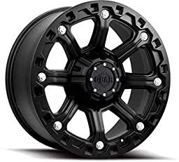 Gear Alloy 718B BLACKJACK Black Wheel (17x9\