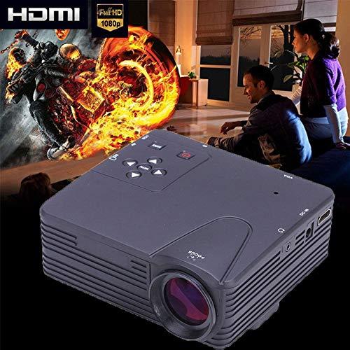 FidgetFidget Projector 3800LM LED LCD Home Cinema Theater HD 1080P HDMI/USB/VGA/AV Multimedia
