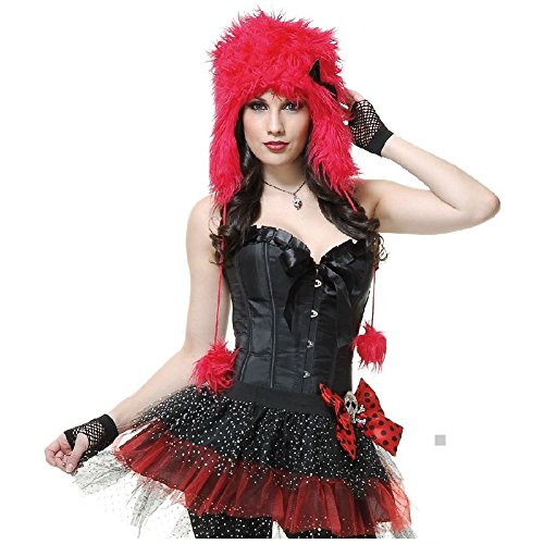 Female Freddy Krueger Costumes (Monster Hood Costume Accessory Adult Womens Halloween)