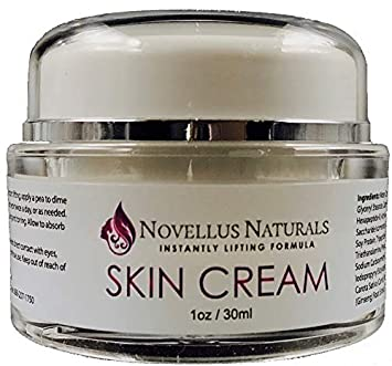 Novellus Naturals- Instant Lifting Formula- Luxury Facial Moisturizer- Anti-Aging Ingredients Designed to Diminish Fine Lines and Wrinkles, Even Skintone and Complexion- Extensive Hydration