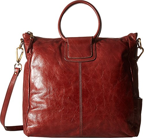 Hobo Women's Leather Vintage Sheila Oversized Crossbody Bag (Mahogany)
