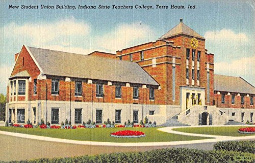 Terre Haute Indiana State Teachers College Student Union Antique Postcard - Stores In Indiana Terre Haute
