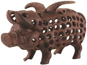 Esschert Design Flying Pig Votive Lantern