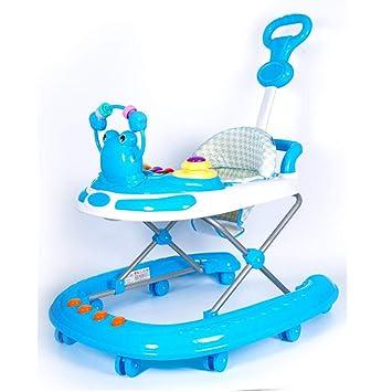 hj Bebé Y Niños Andador 6/7-18 Meses Bebé Antideslizante Empuje De ...