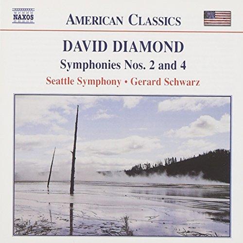 Diamond: Symphonies Nos. 2 & 4 (Schwarz Classic)