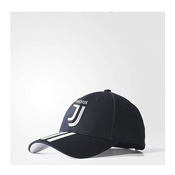 adidas Juve 3S Gorra Juventus de Tenis, Unisex niños, (Negro/Blanco), 12/16 años: Amazon.es: Deportes y aire libre