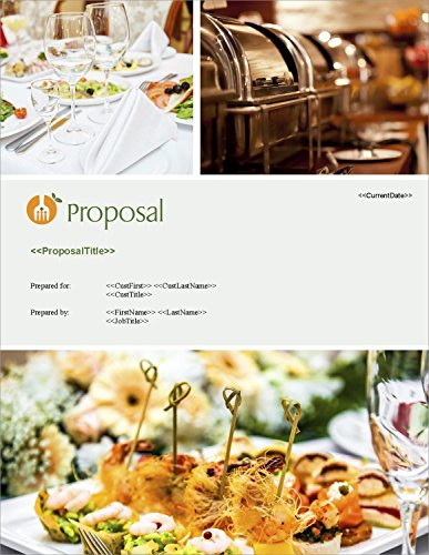 (Proposal Pack Catering #1 - Business Proposals, Plans, Templates, Samples and Software V18.0)