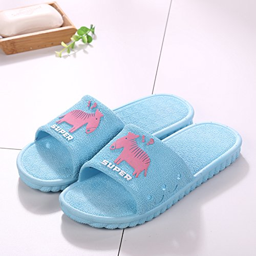 outside blue bath bathroom slip slippers interior 38 light the cool 37 thick fankou Summer sandals tide home anti men qUFHwzSHx