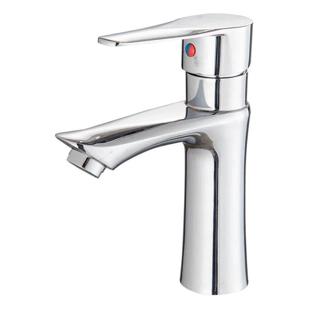 Janitorial & Sanitation Supplies Janitorial & Sanitation Supplies Zinc Alloy Bathroom Washbasin Cold and Hot Water Faucet Face Pot Faucet Switch Ae344