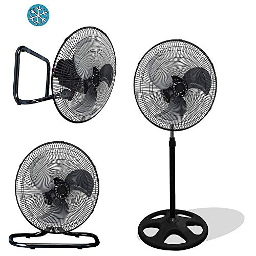 - Unique Imports Premium Large High Velocity Industrial Floor Fan 18