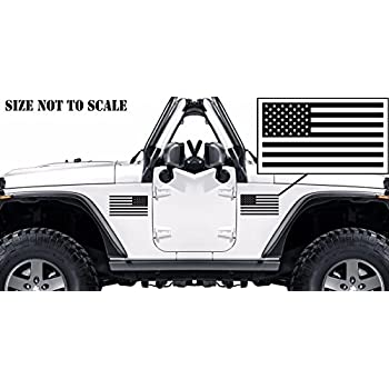 American subdued flags for jeep tactical military flag usa sticker decal for cars windows etc