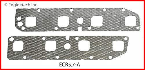 ENGINETECH ECR5.7-A EXHAUST MANIFOLD GASKET Fits: 2003-2008 DODGE CHRYSLER JEEP 5.7L V8 HEMI RAM DURANGO CHEROKEE CHARGER CHALLENGER 300 MAGNUM