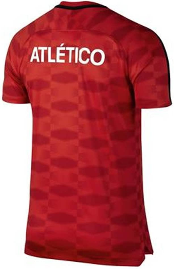 2017-2018 Atletico Madrid Nike Pre-Match Dry Training Shirt (Red): Amazon.es: Deportes y aire libre