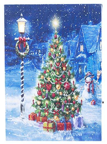 Oak Street The Perfect Christmas Tree Winter LED Art 8