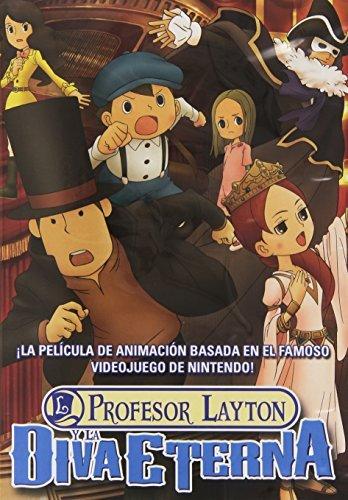 El Profesor Layton Y La Diva Eterna: Amazon.es: Cine y Series TV