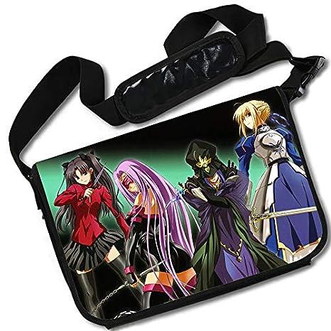 6a79d2f775ce Amazon.com: ROUNDMEUP Fate Stay Night Anime Stylish Messenger Bag ...