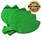 Giant Round balloons 36-Inch Big Balloon - 6 Pack Latex Green Balloons