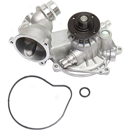 Water Pump compatible with BMW X5 04-06 7-Series 545I 645Ci 04-05 Alpina B7 07-08 Mechanical Gasket Included Standard Rotation