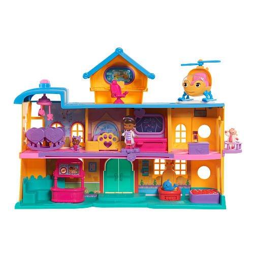 Just Play Doc McStuffins Toy Hospital Playset - Doc Mcstuffins Doll House
