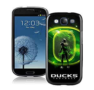 Popular And Unique Custom Designed Case For Samsung Galaxy S3 I9300 With NCAA Pacific 12 Conference Pac 12 Football Oregon Ducks 02(1) Black Phone Case