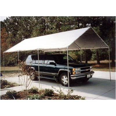 King Canopy 10 Ft x 20 Ft Silver Cover