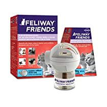FELIWAYFriends Diffuser Starter Kit (FELIWAY MultiCat) - Helps Reduce Fighting, Tension and Conflicts Between Cats in The Home - (30 Day Starter Kit)