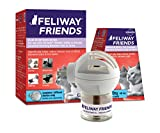 FELIWAY Friends Diffuser Starter Kit (FELIWAY MultiCat) - Helps Reduce Fighting, Tension and Conflicts Between Cats in The Home - (30 Day Starter Kit)