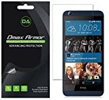 [6-Pack] Dmax Armor HTC Desire 626 626s Screen Protector Anti-Bubble High Definition Clear Shield - Lifetime Replacements Warranty- Retail Packaging