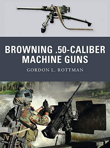 Browning .50-caliber Machine Guns (Weapon) (Gun Browning Machine)