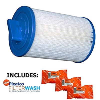 Pleatco Cartridge Filter PSANT20P3 Futura Spa (Strong Industries) w/ 3x Filter Washes : Garden & Outdoor
