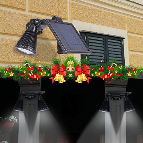 Solar Lights Motion Sensor Outdoor Opernee Upgraded
