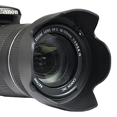 Pixco EW-73B Lens Hood For Canon EF-S 17-85MM F/4-5.6 IS USM 18-135MM F/3.5-5.6 IS