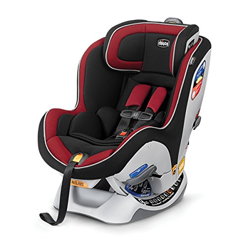 Chicco NextFit iX Convertible Car Seat, Firecracker