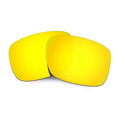 HKUCO Mens Replacement Lenses For Oakley Drop Point 24K Gold/Titanium Sunglasses qqXpiihaXB