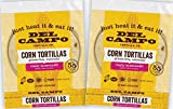 6 corn tortillas - Del Campo Soft Corn Tortillas – 6 Inch Round 1 Lb. Bag. 100% Natural, Gluten Free, All-Corn Authentic Mexican Food. Serving Options: Wraps, Tacos, Quesadillas or Burritos. Kosher.16ct./(Pack of Two)