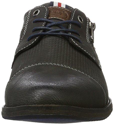 BM Footwear Herren 2711705 Derby, Grau (Coal), 42 EU