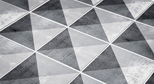 Amazon.de: Geometrische Stein Fliesen Wanddeko Wohnzimmer ...