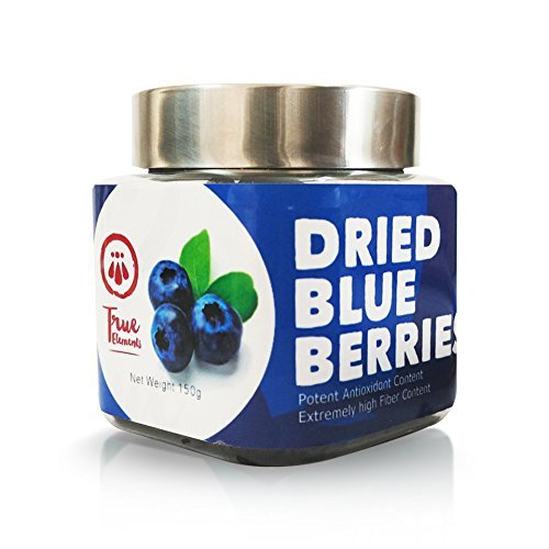 True Elements Dried Blueberries 150gm by True (Image #1)