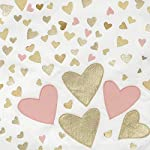 Lambs-Ivy-Confetti-Heart-4-Piece-Crib-Bedding-Set-PinkGold