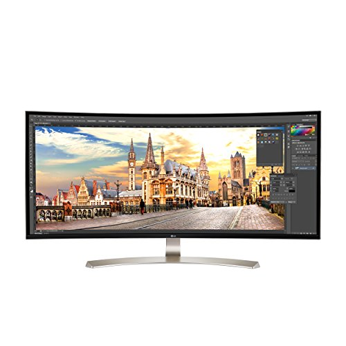 PC Hardware : LG 38UC99-W 38-Inch 21:9 Curved UltraWide QHD+ IPS Monitor with Bluetooth Speakers