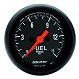 "Auto Meter 2661 Z-Series 2-1/16"" 0-15 PSI Full Sweep Electric Fuel Pressure Gauge with O Peak and Valley"