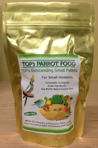 TOP's Parrot Food Small Pellets for Birds - 12oz / 340g