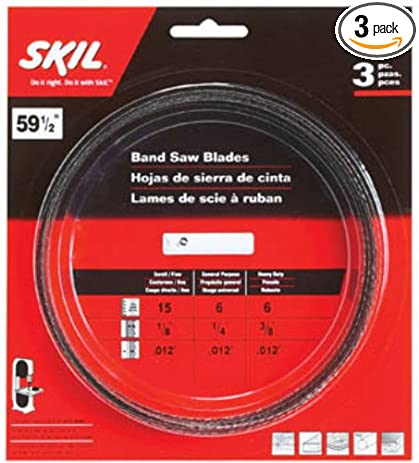 Skil 80151 59 12 inch band saw blade assortment 3 pack bandsaw skil 80151 59 12 inch band saw blade assortment 3 greentooth Choice Image