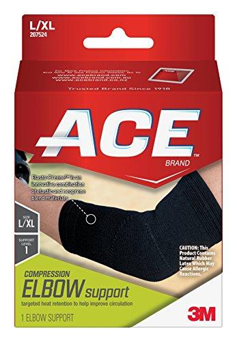 ACE Elasto-Preene Elbow Support, Large/Extra Large