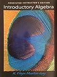 Introductory Algebra, Martin-Gay, K. Elayn, 0138624674