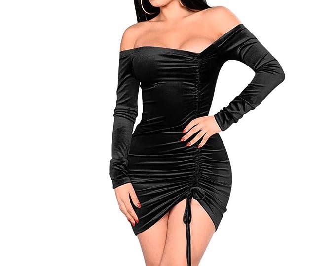Vestidos Cortos De Mujer Sexys Pegados Al Cuerpo Ropa De